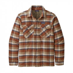 Куртка Patagonia M's Insulated Fjord Flannel Jkt - Фото