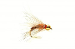 Мушка FM Emerger Tungsten Orange - Фото