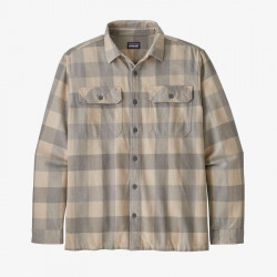 Рубашка Patagonia M's L/S Natural Dye Fjord Flannel Shirt - Фото