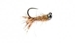 Мушка FM Peeping Caddis Jig Barbless.JPG